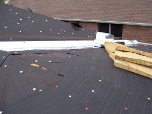 residential-roof-replacement-valley-metal & underlayment